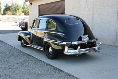 Four Door Sedan by 1947 Mercury 4 Door Sedan Rod 1941 1942 1946