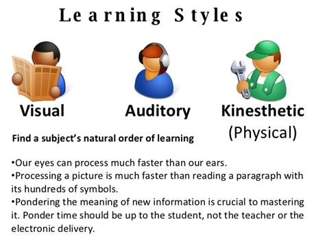 accelerated learning techniques to learn faster and focus better books image gallery learning styles clip