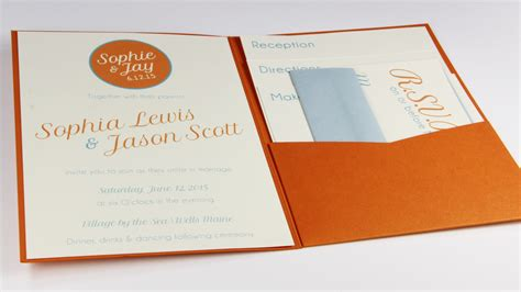 posh invitation template posh pockets one fold invitation design