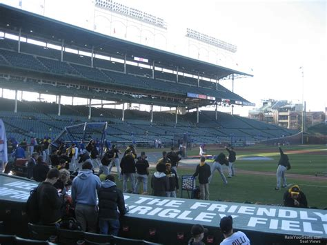 section 205 wrigley field wrigley field section 205 chicago cubs rateyourseats com