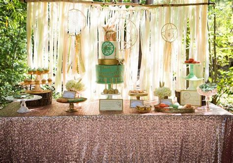 dream themed events pastel dream catcher themed birthday party planning