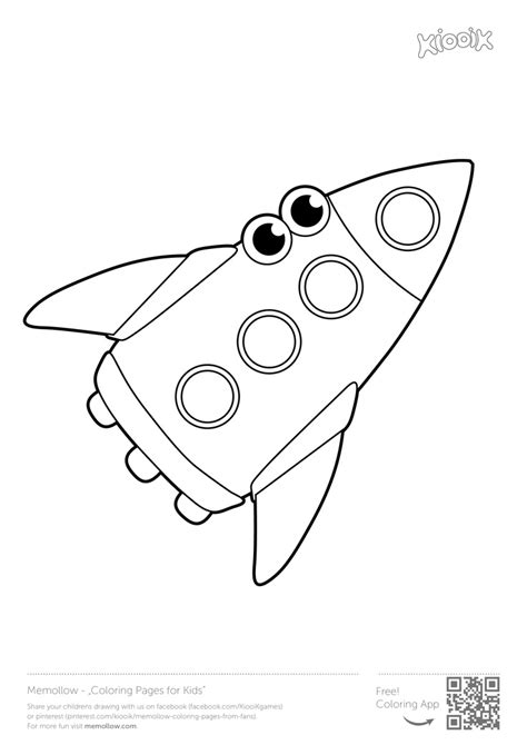 preschool rocket coloring page 20 best images about memollow coloring pages to print on