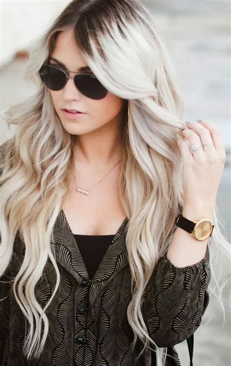 dark roots blonde hair pinterest the world s catalog of ideas