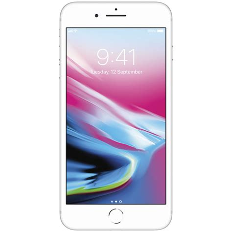 iphone 8 plus 64gb silver officeworks