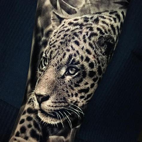leopard tattoo ash higham leopard leopard