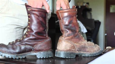 leather boot wax doovi