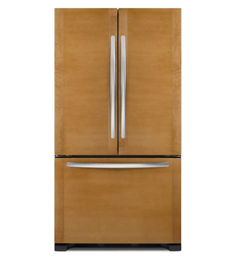 refrigerators that accept cabinet panels kitchenaid 174 22 cu ft counter depth french door