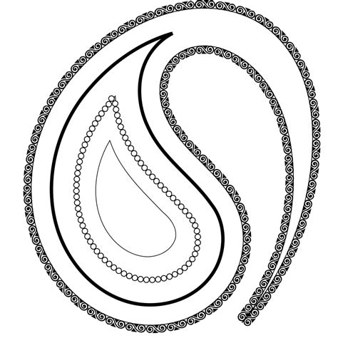 paisley pattern png free paisley clip art clipart best