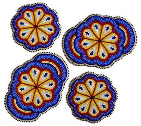 beaded rosette patterns american beading patterns beaded rosettes