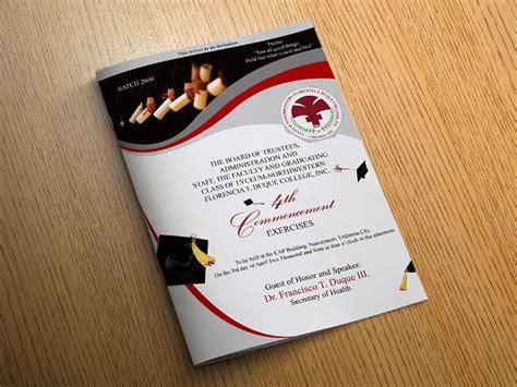 17 Graduation Brochures Free Psd Ai Indesign Vector Eps Format Download Design Trends Program Booklet Design Template