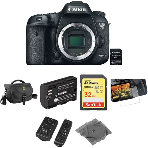 7d dslr canon eos 7d ii dslr with basic photo kit b h