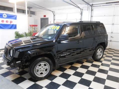 2014 Jeep Patriot Mpg Find Used 2014 Jeep Patriot 1 557 No Reserve Salvage