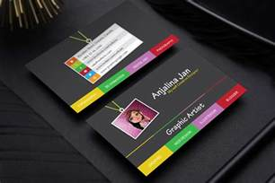 graphic design business cards free graphic artist business card template design