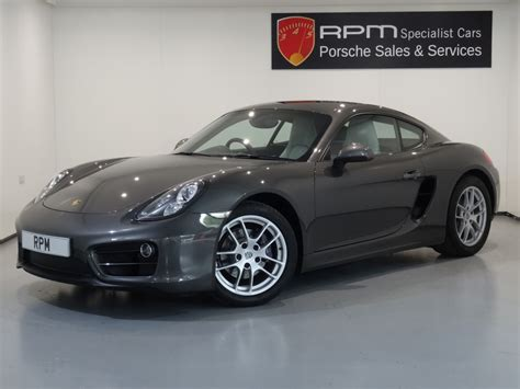 Cayman Porsche For Sale by For Sale Porsche 981 Cayman 2 7 Pdk Rpm Specialist Cars
