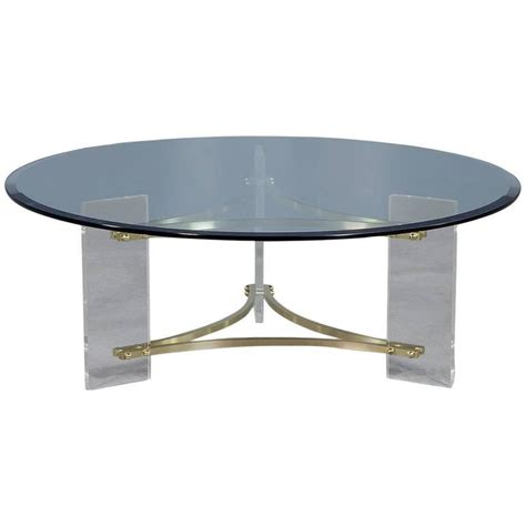 Glass Cocktail Table by Regency Style Glass Cocktail Table For