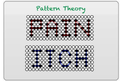 template theory coding of itch ross lab