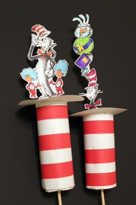 cat in the hat crafts for 47 dr seuss birthday activities for march tip junkie