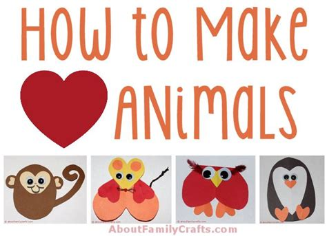 How To Make Animals Out Of Construction Paper - how to make paper animals about family crafts