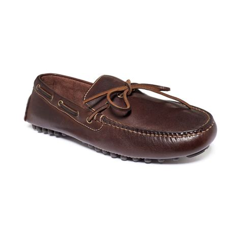 cole haan brown loafers cole haan air grant loafers in brown for tmoro lyst