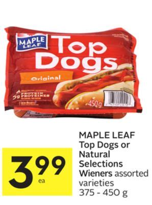 maple leaf top dogs or on sale salewhale ca