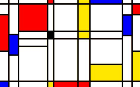 a playable version of pong set inside a piet mondrian painting colossal