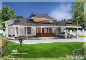 Single Storey House Designs Kerala Style Traditional Single Storey Ed Naalukettu With Nadumuttam