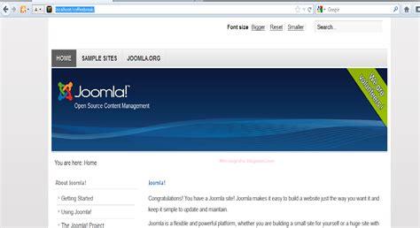 belajar membuat website dengan html belajar membuat website dengan joomla part 1 inspirasi