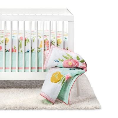 Fave Baby Bedding From Target by Crib Bedding Set Floral Fields 4pc Cloud Island Pink