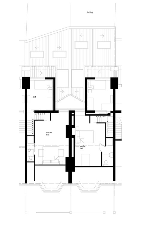 second floor extension plans house extension balham mainwood architects
