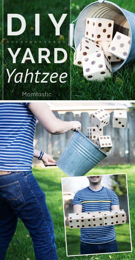 Backyard Yahtzee 1000 Ideas About Big Jenga On Outdoor Jenga