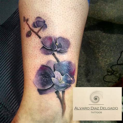 orchid tattoo behind ear 45 gorgeous floral tattoos for women tattooblend