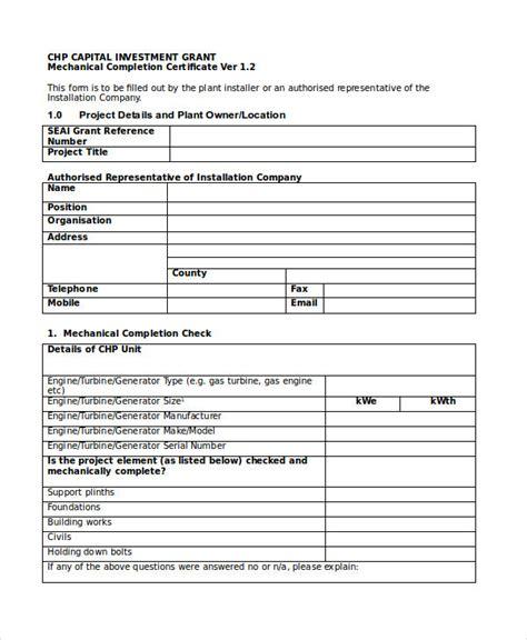 handover certificate template project handover certificate template