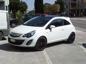 Opel Corsa Pareri Corsa Club Italia Leggi Argomento B Color Black White