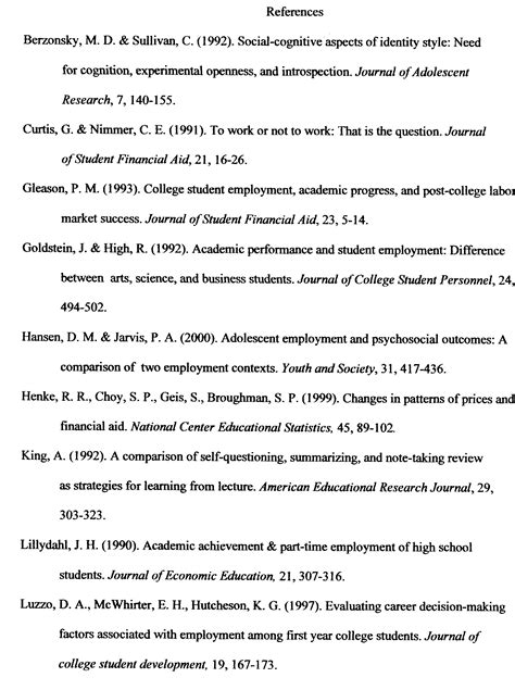 references in a research paper y psychology research poster session y