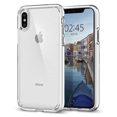 spigen ultra hybrid clear iphone x gadgetsin