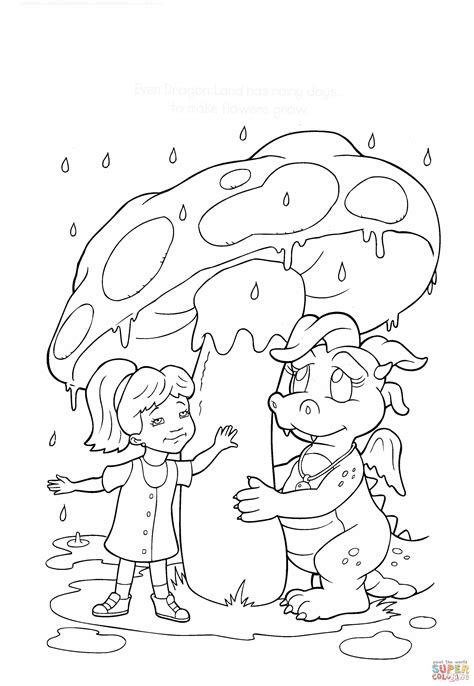 coloring page rainy day coloring page rainy day coloring pages for free