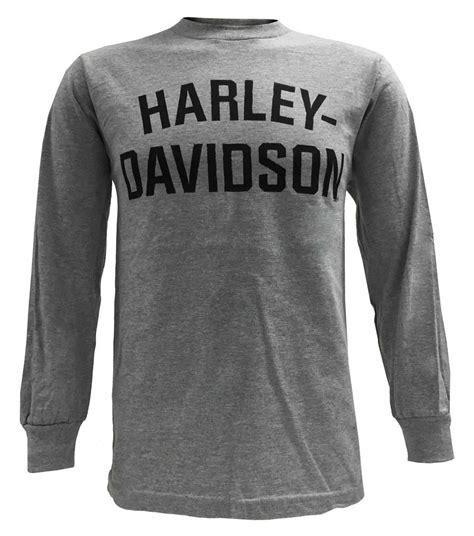 T Shirt Longsleeve Harley Davidson harley davidson s t shirt sleeve heritage h