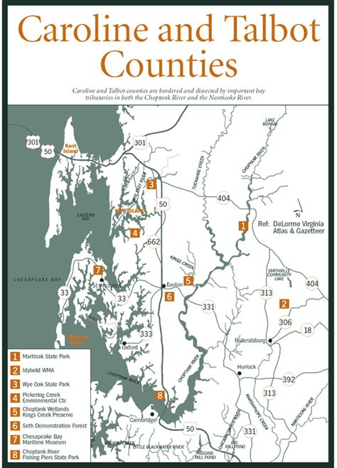 map maryland eastern shore counties sherpa guides chesapeake bay the eastern shore