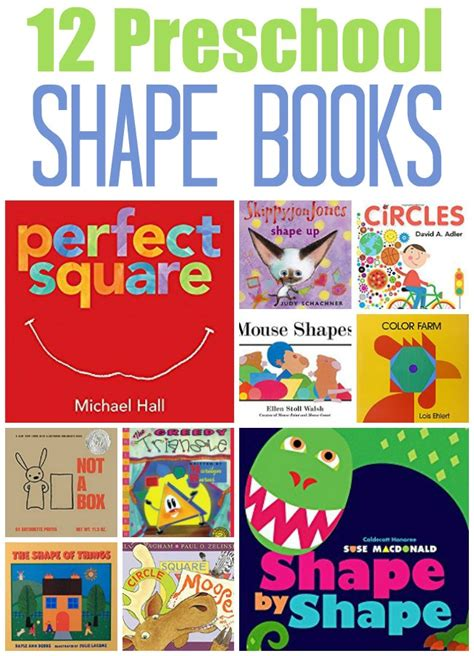 book themes for kindergarten 12 shape books for preschool