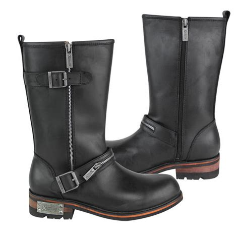 zipper motorcycle boots xelement s zipper motorcycle engineer boots