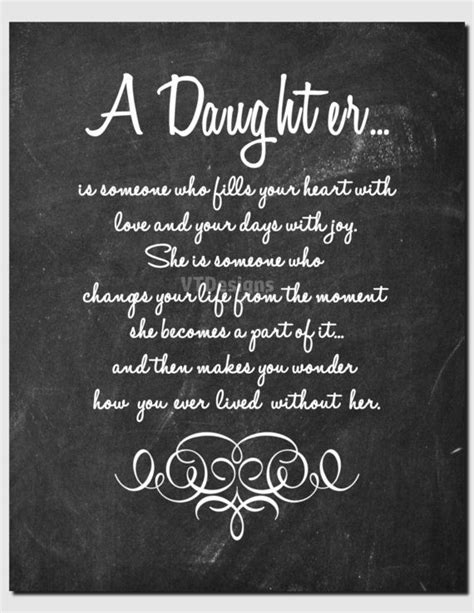 printable daughter quotes gift for daughter daughter print birthday teens tweens