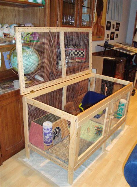 Handmade Rabbit Hutch - guinea pig houses