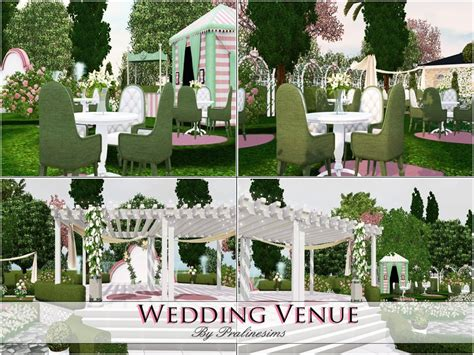 Wedding Arch The Sims 3 by Pralinesims Wedding Venue