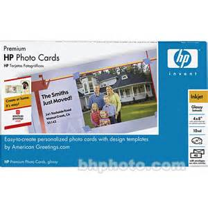 hp premium photo greeting cards 4x8 quot 40 cards q7892a