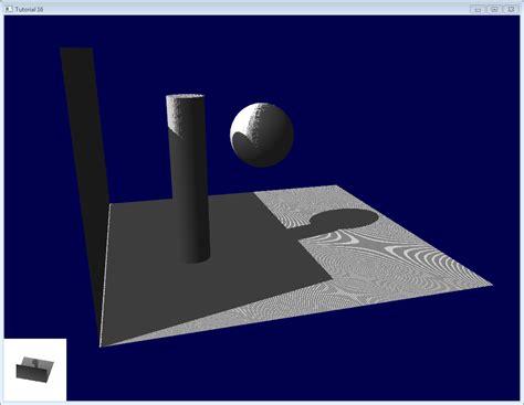 opengl tutorial org tutoriel 16 shadow mapping
