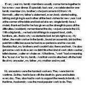 My Family Tree Essay by My Family History At Essaypedia