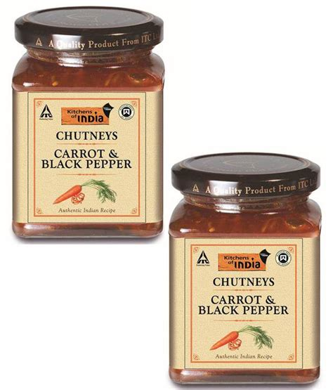 Kitchens Of India Shopping Kitchens Of India Carrot Black Pepper Pack Of 2 Buy