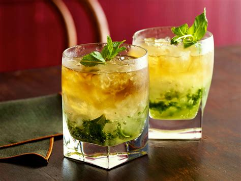 mint julep cocktail mint julep recipe alton brown food network