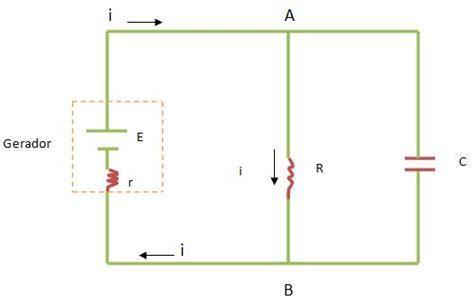 r resistor kapasitor circuito rc paralelo capacitores col 233 gio web