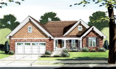 one story brick house plans one story brick house brick one level house plans one